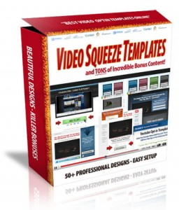 Video Squeeze Page Templates