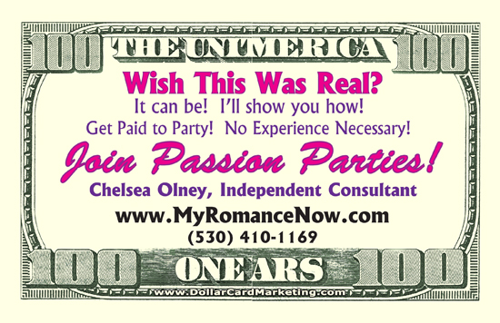 Passion Party Business Cards