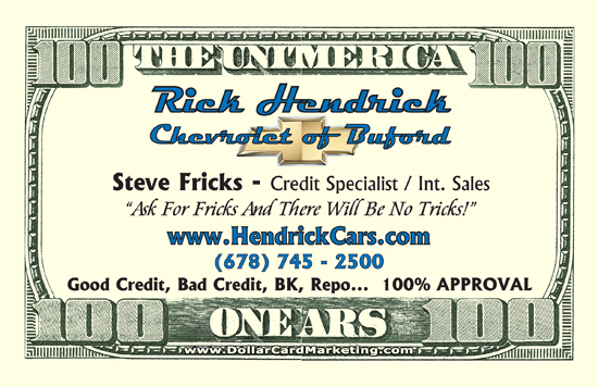 car dealer business cards