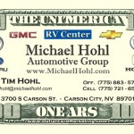 auto industry business cards