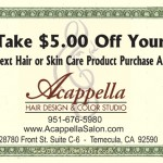 beauty salon business cards