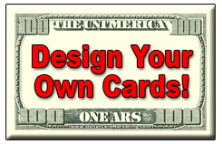 design your own business cards and drop cards